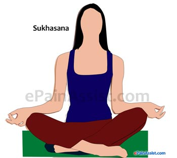 Sukhasana Or Easy Seat Pose Performed for Arthritis!