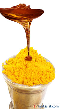 Benefits of Honey- Honey with Turmeric
