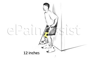 Wall Slide with Ball Exercise for Patellofemoral Pain Syndrome
