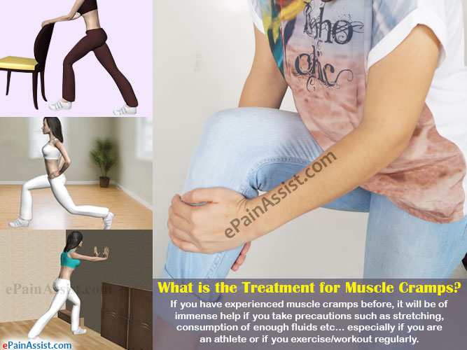 Treatment for Muscle Cramps, its Recovery Period