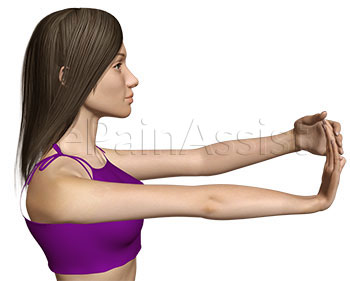 Suffering From Wrist Tendinitis? Wrist and Finger Extensor Stretch Exercise Can Be Beneficial.