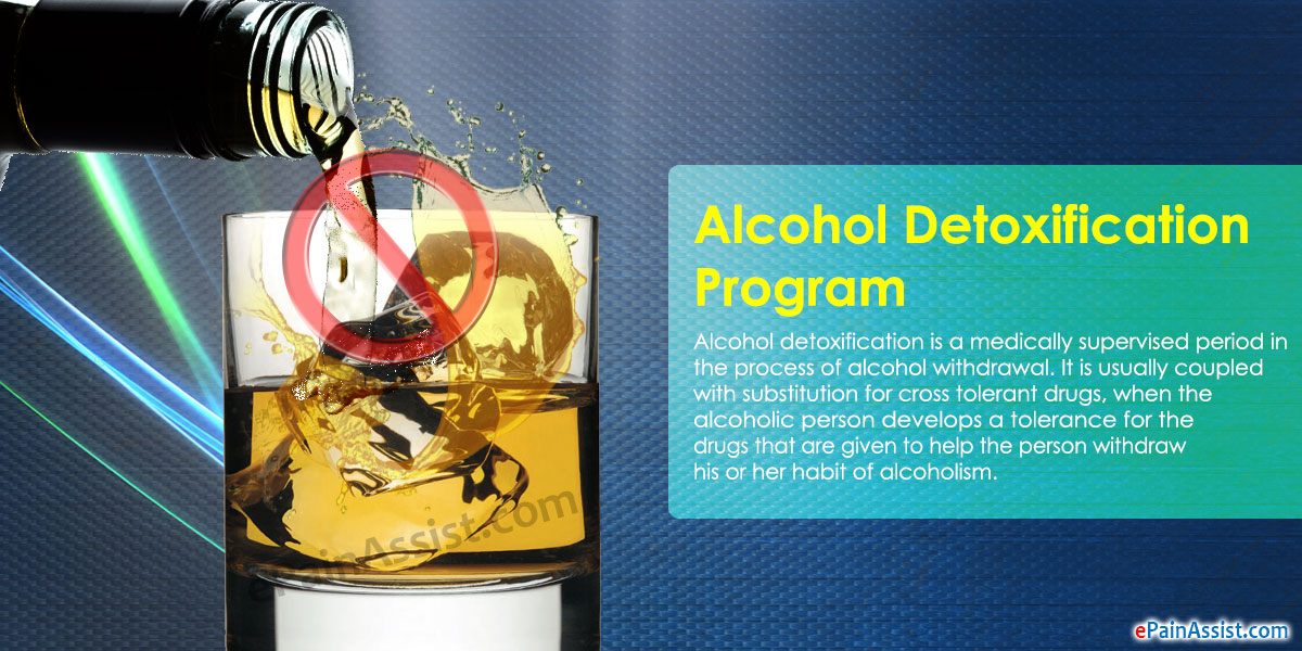 Different Kinds of Alcohol Detoxification Programs