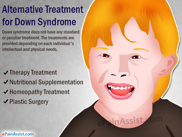 Alternative Treatment for Down Syndrome