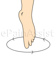 Toe Draw Exercise To Strengthen The Ankle After Sprain