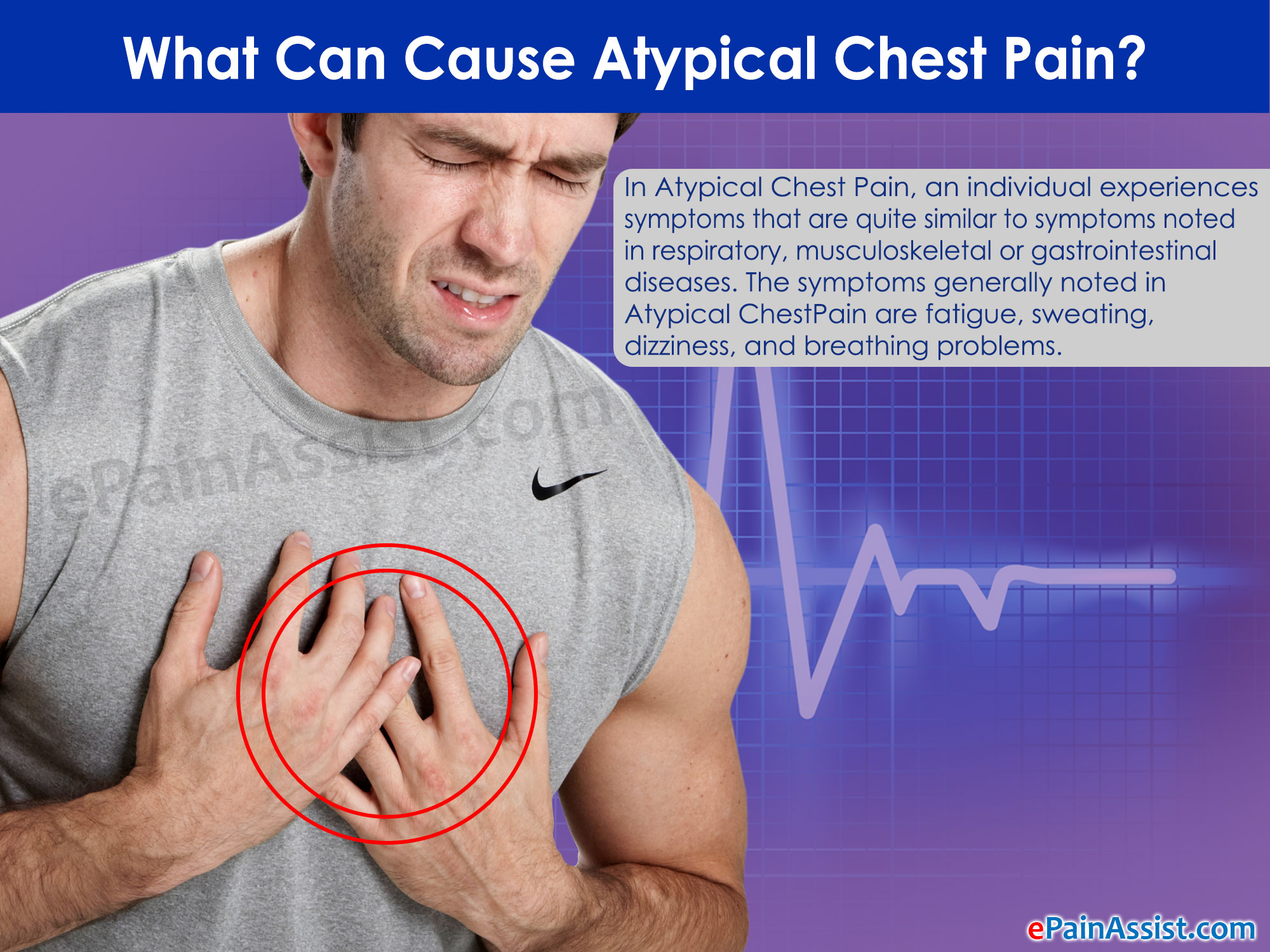 What Can Cause Atypical Chest Pain