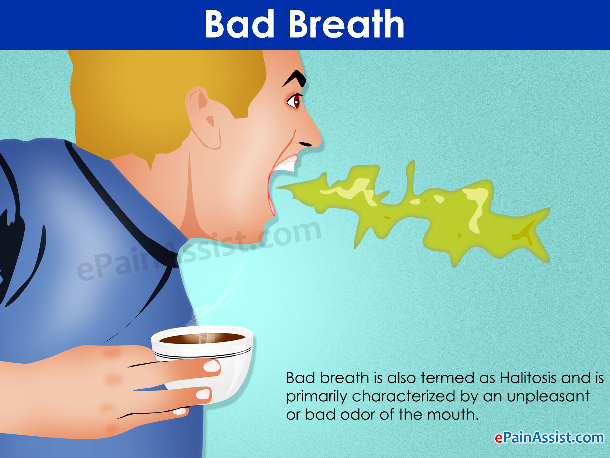 bad breath: treatment, home remedies, prevention, Human Body
