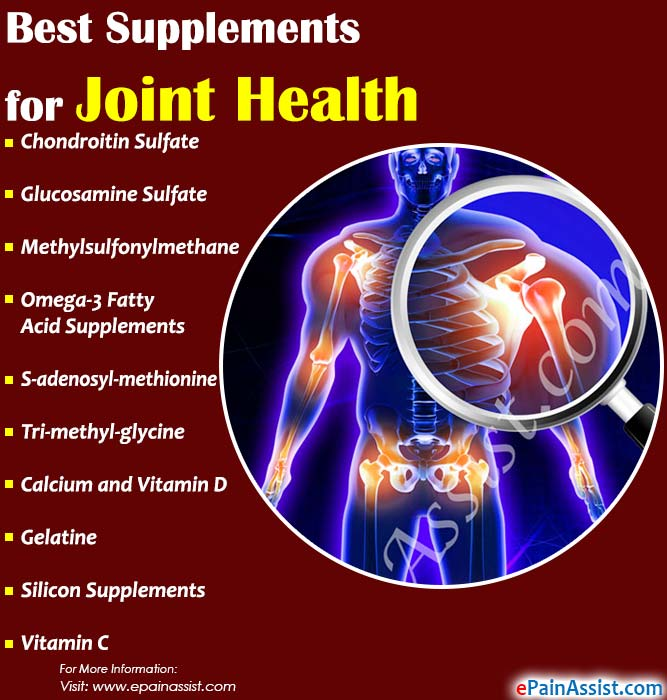 Best Supplements for Joint Health