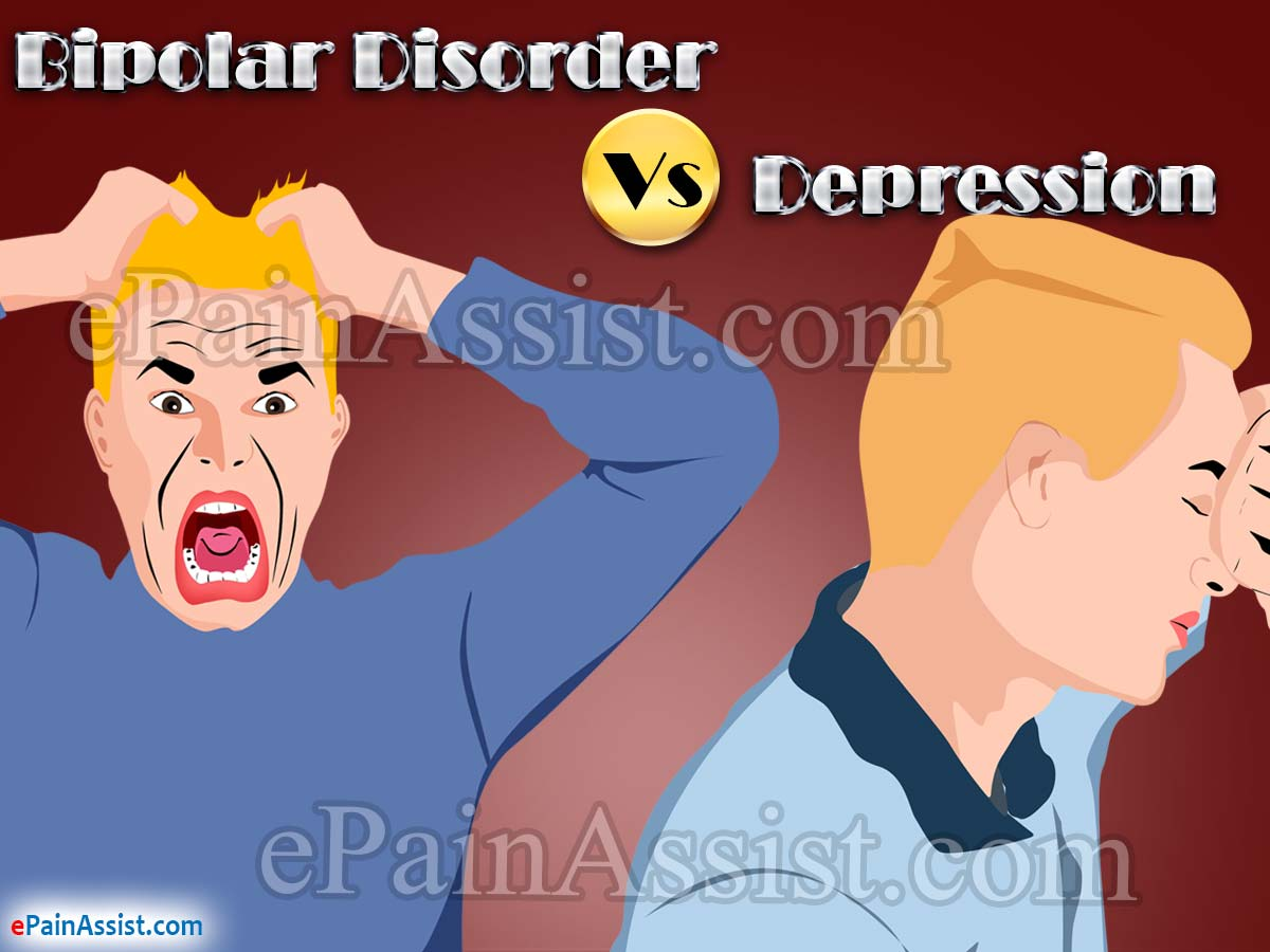 Bipolar Disorder Vs. Depression