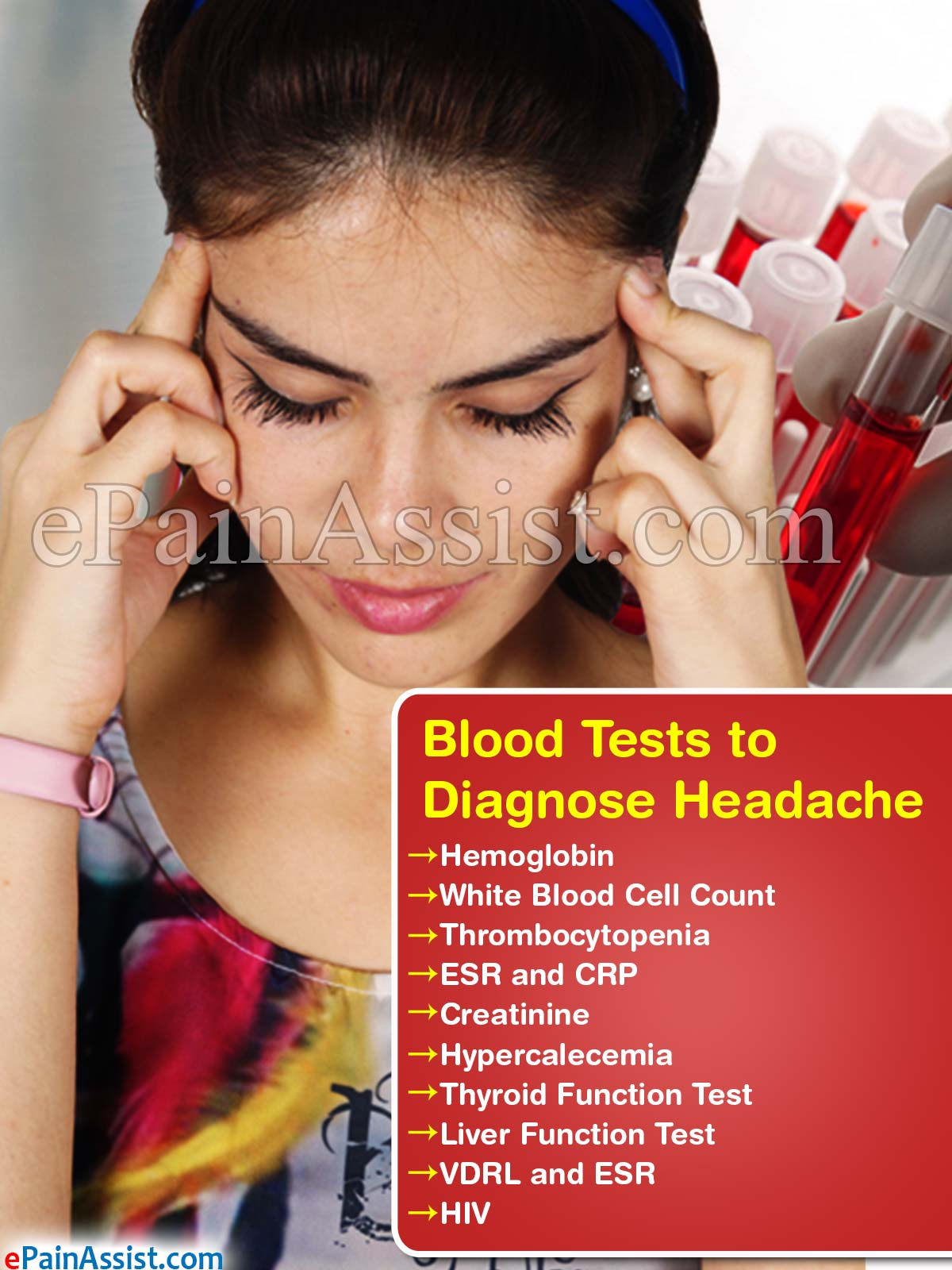 Blood Tests to Diagnose Headache