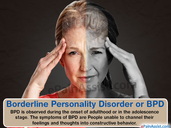 Borderline Personality Disorder or BPD