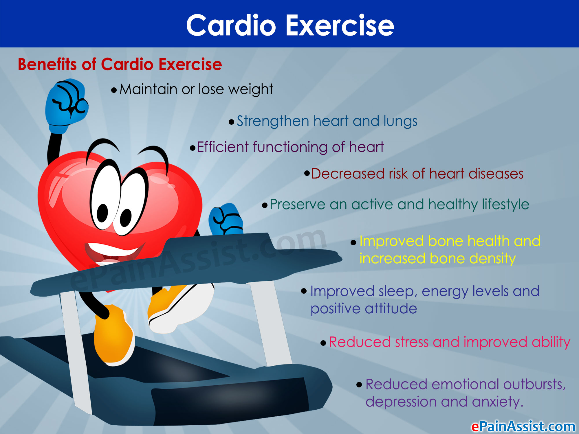 exercising and its benefits essay Exercising regularly has wide-ranging physical, emotional and social health benefits you need to exercise safely to remain healthy and injury-free.