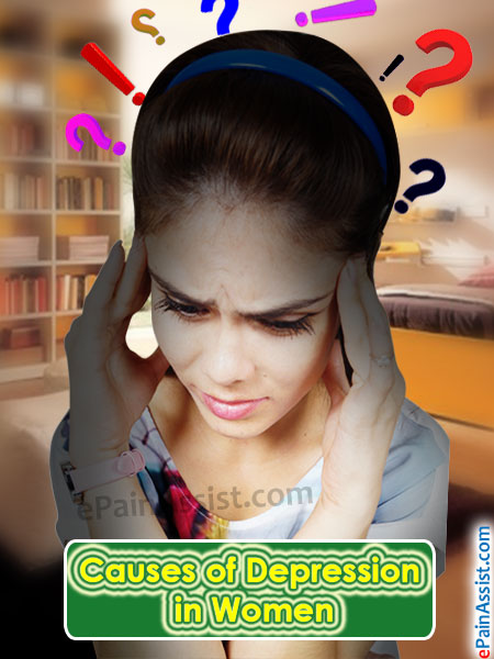 Causes of Depression in Women