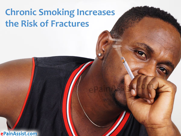 Chronic Smoking Increases the Risk of Fractures