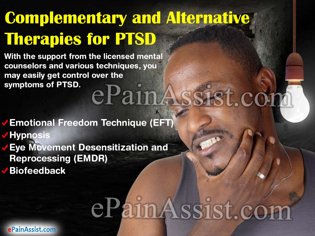 Complementary and Alternative Therapies for PTSD