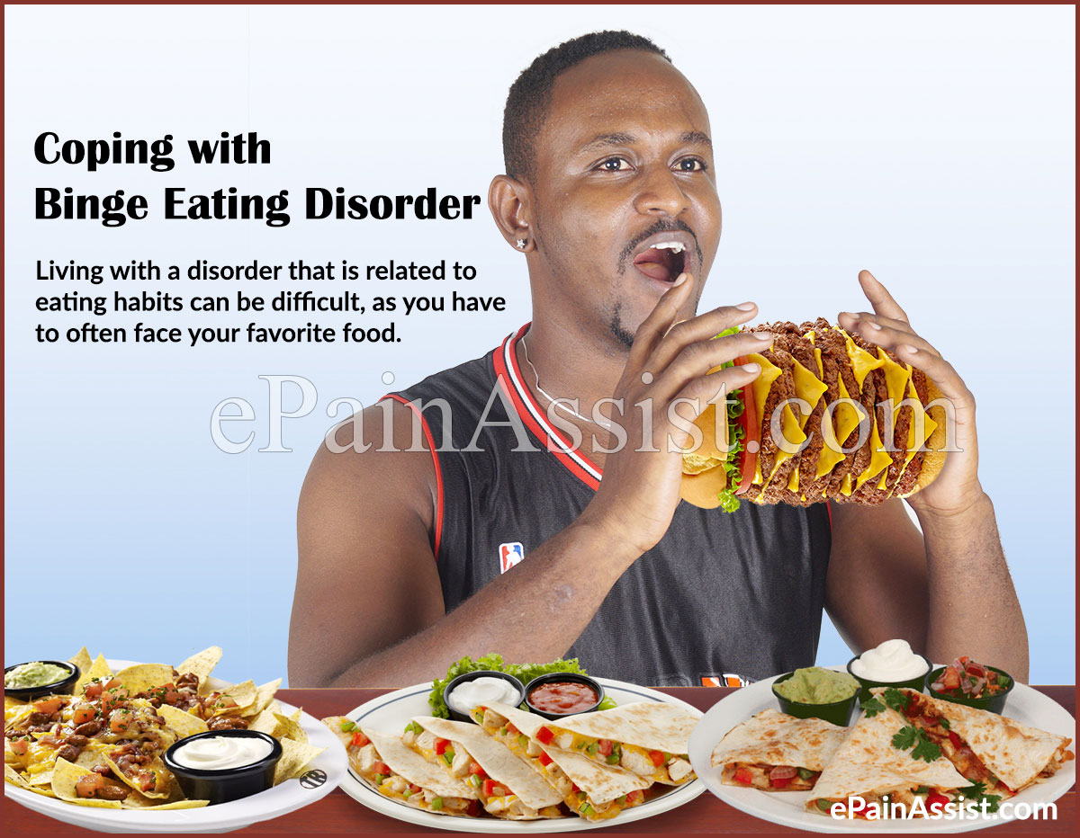 Coping with Binge Eating Disorder or BED and Recovery Tips