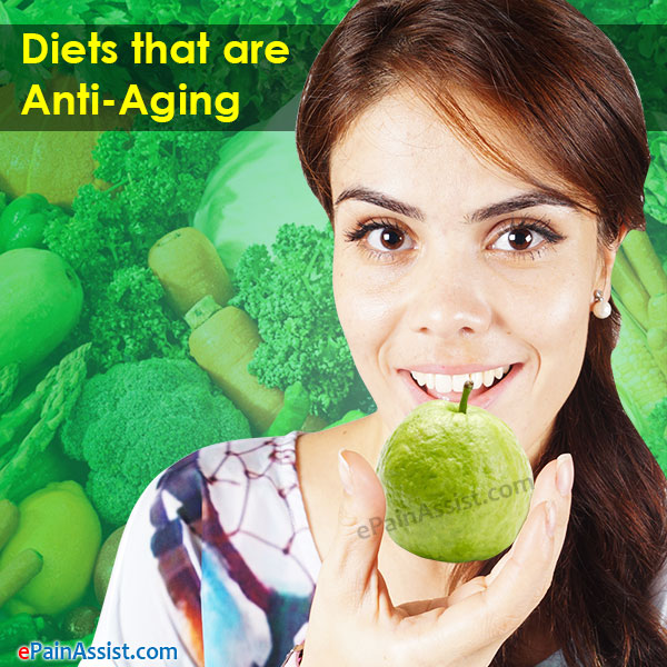 Diets that are Anti-Aging