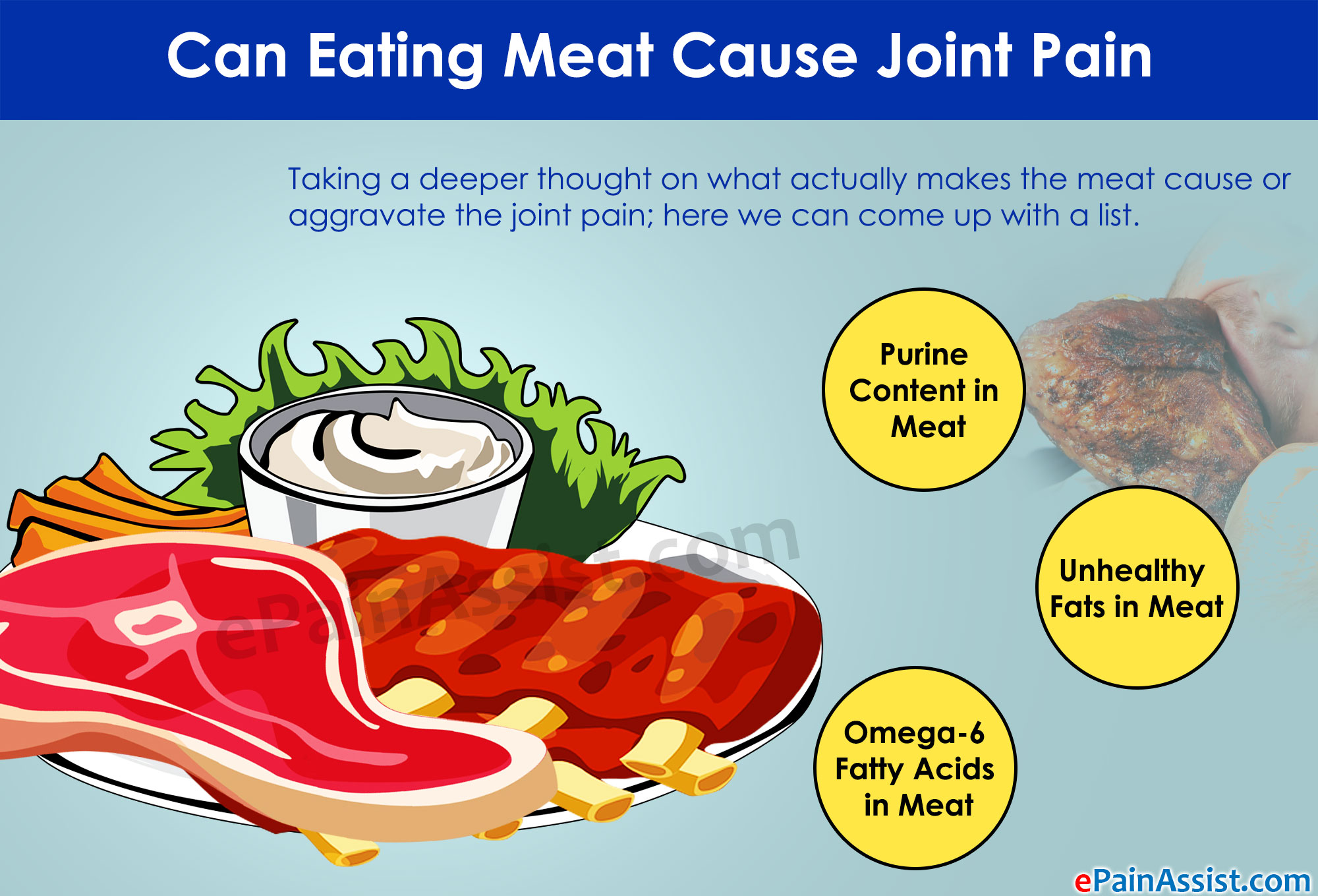Can Eating Meat Cause Joint Pain