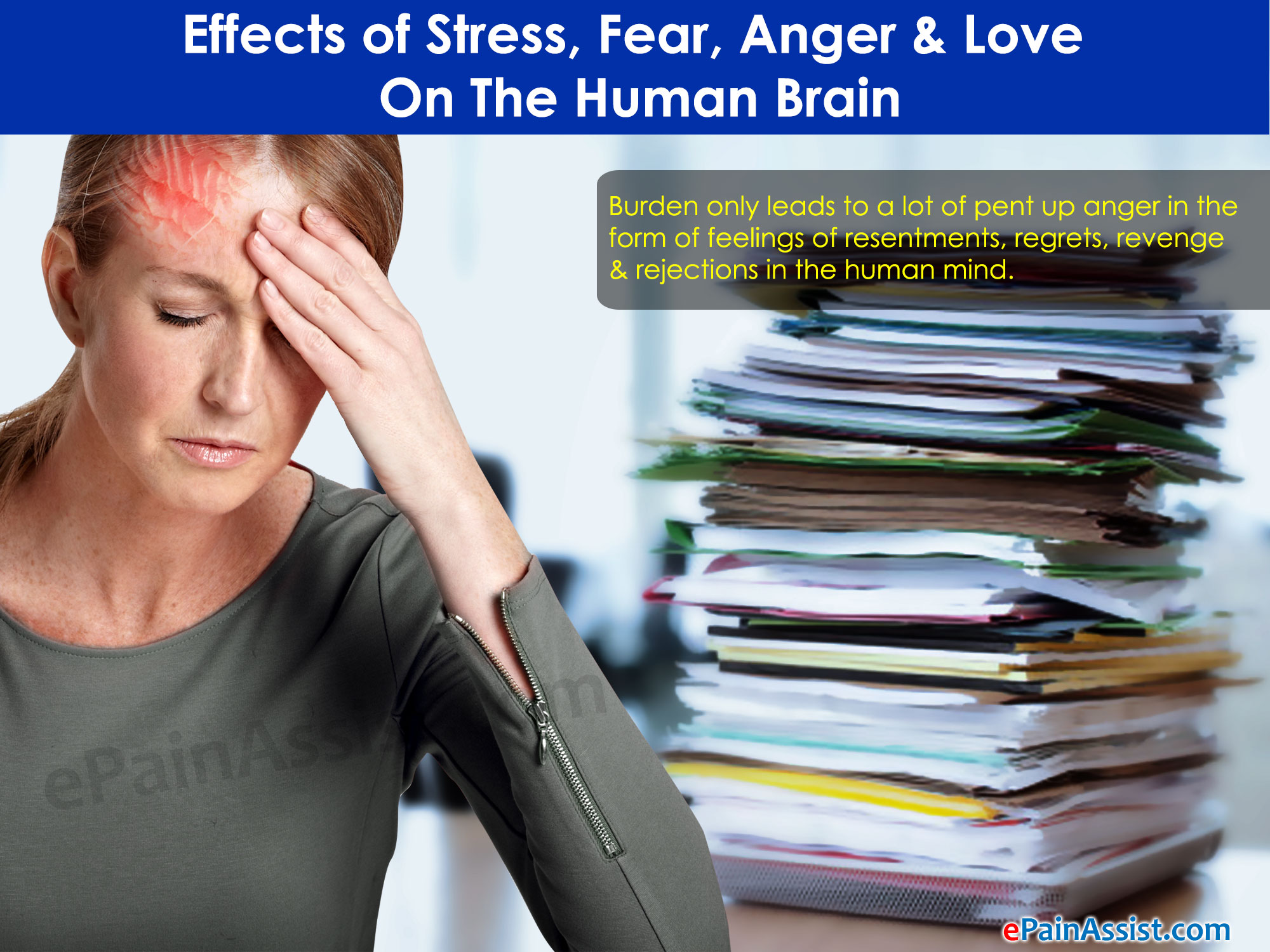 Effects of Stress, Fear, Anger and Love On The Human Brain