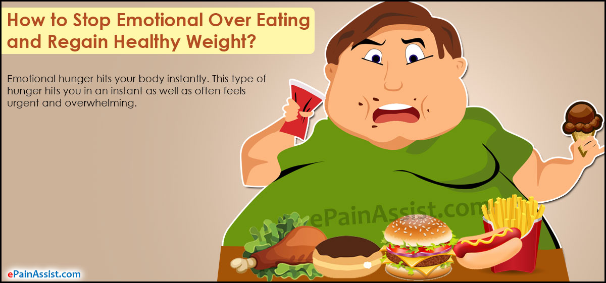 Emotional Over Eating and Regain Healthy Weight