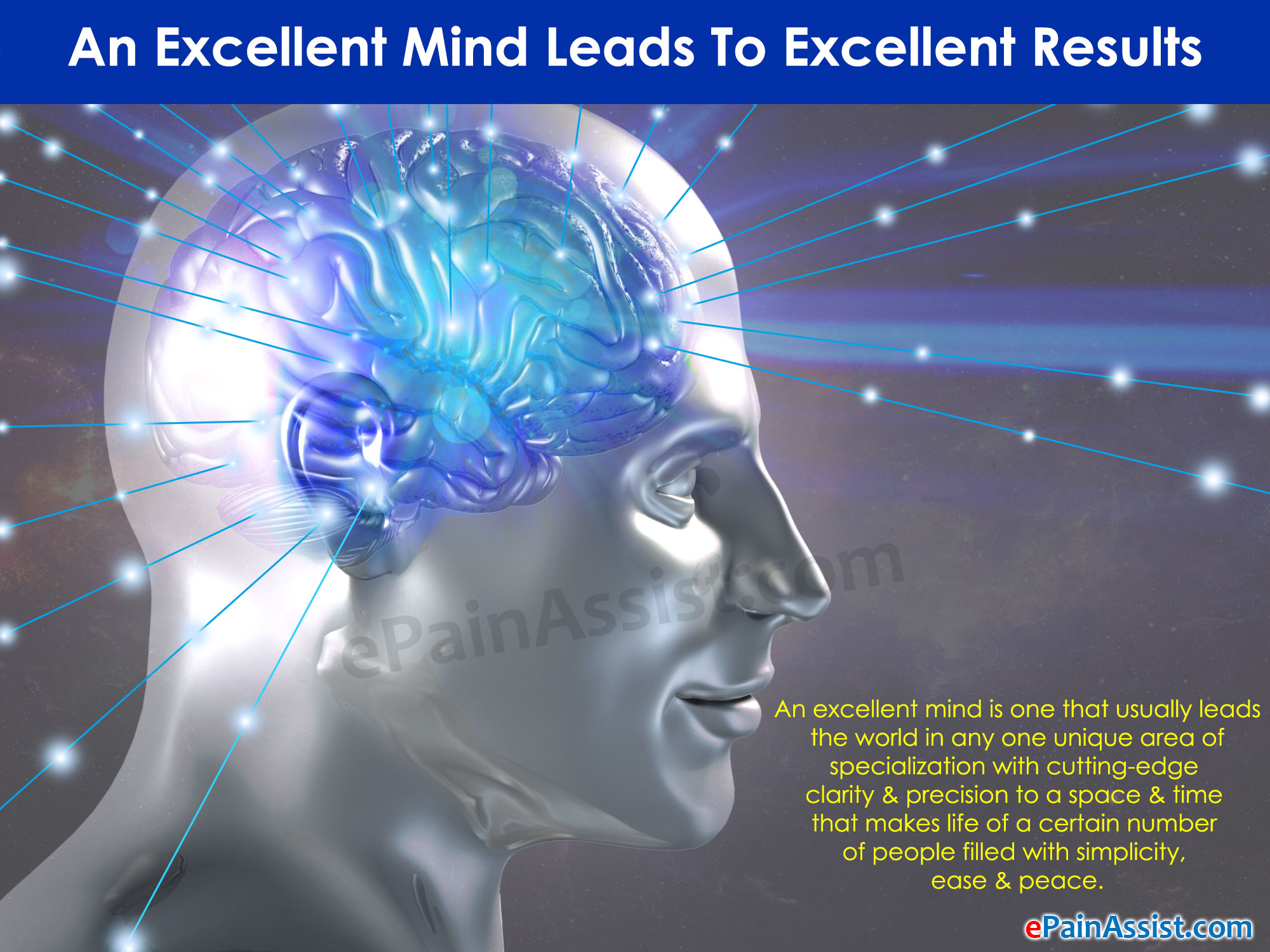 An Excellent Mind Leads To Excellent Results