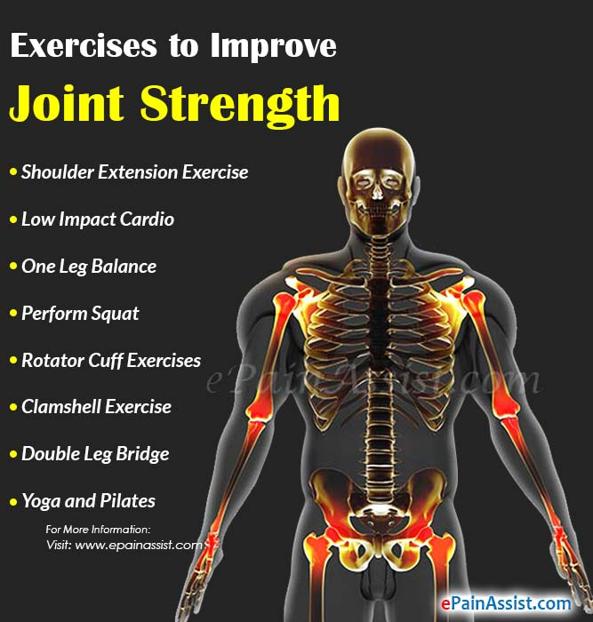 Exercises and Foods to Improve Joint Strength