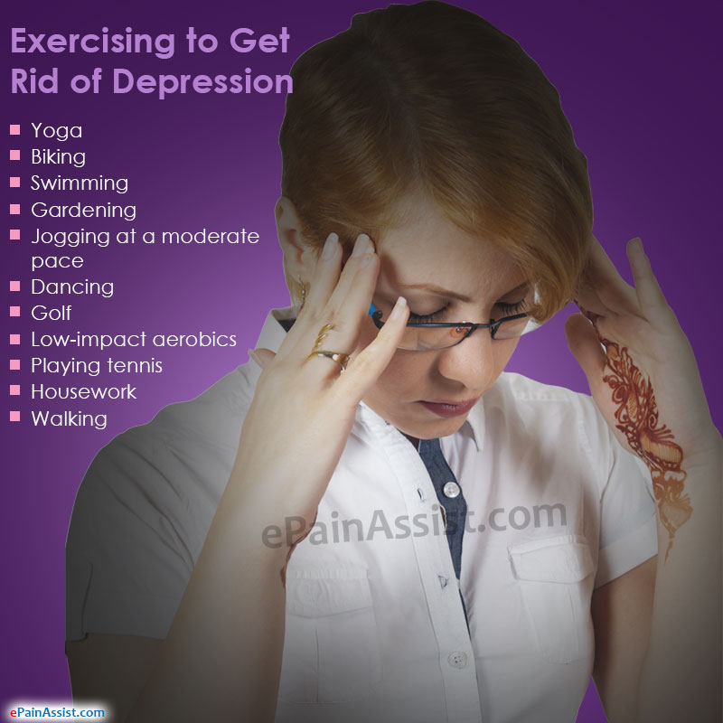 Exercising to Get Rid Of Depression