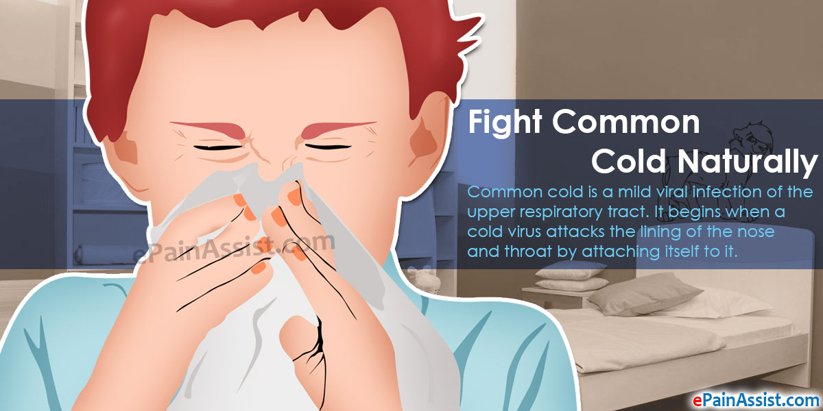 Fight Common Cold Naturally