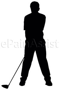 Golfers have repetitive strain on the hip which can cause Labral Tear of the Hip Joint