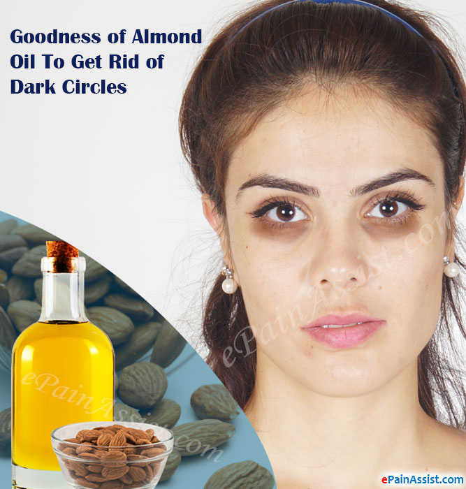 How To Use Almond Oil Reduce Dark Circles