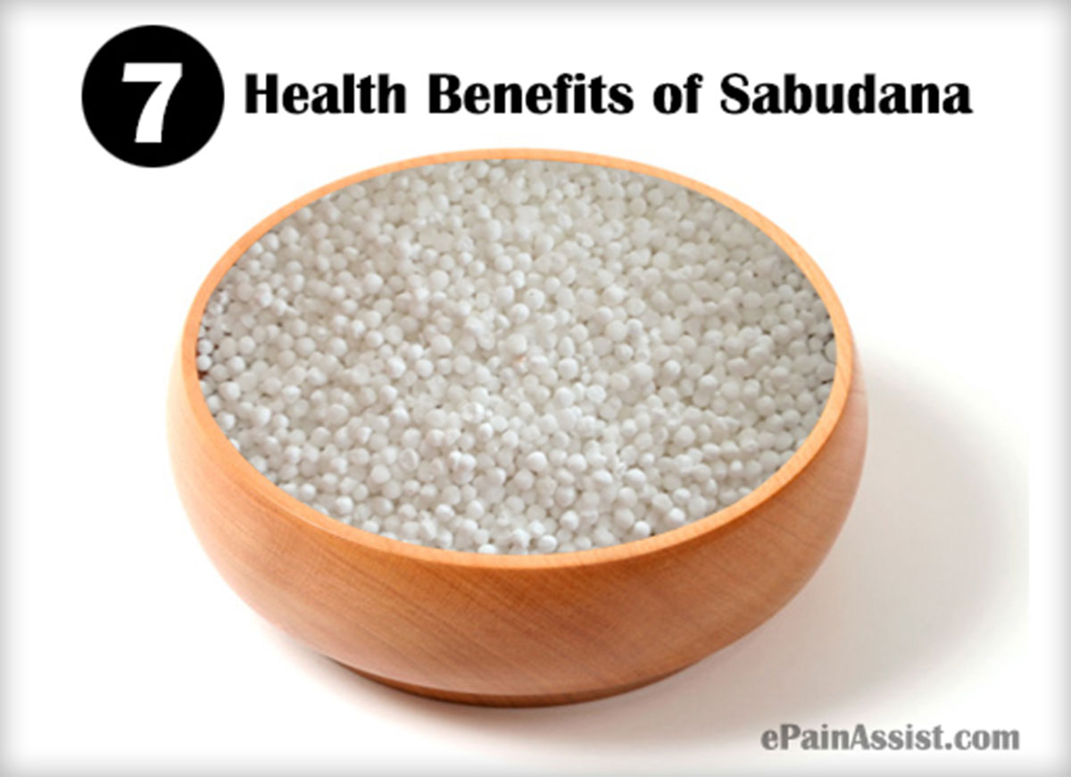 Health Benefits of Sabudana