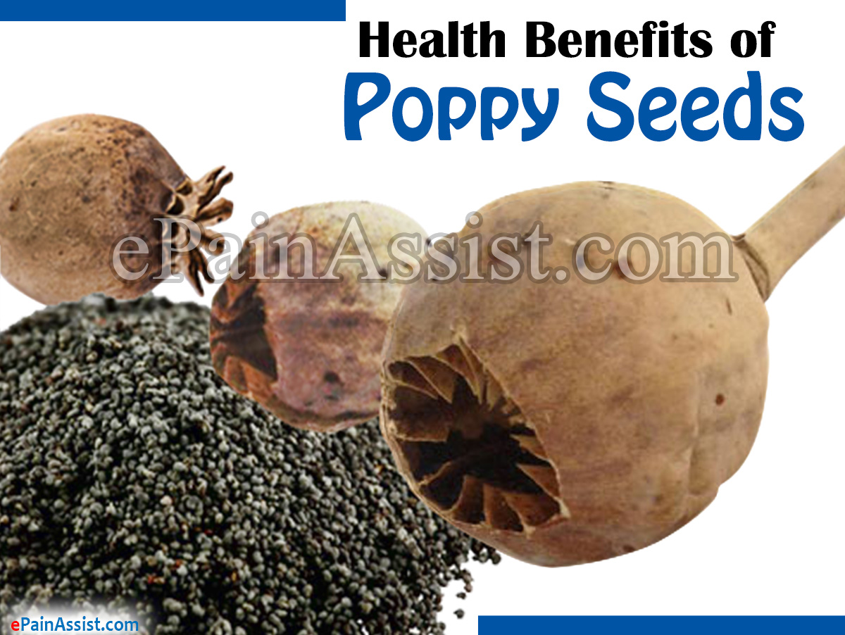 Health Benefits of Poppy Seeds