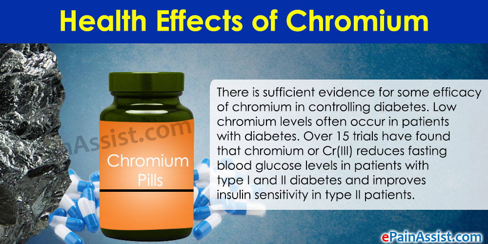 Health Effects of Chromium