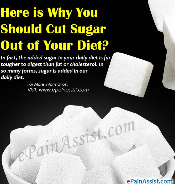 Here is Why You Should Cut Sugar Out of Your Diet
