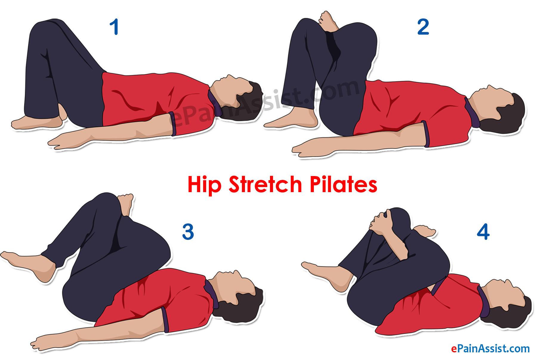 Hip Stretch Pilates