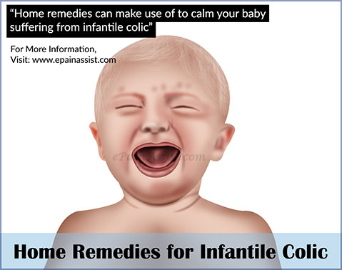 Home Remedies For Infantile Colic Babies With Colic