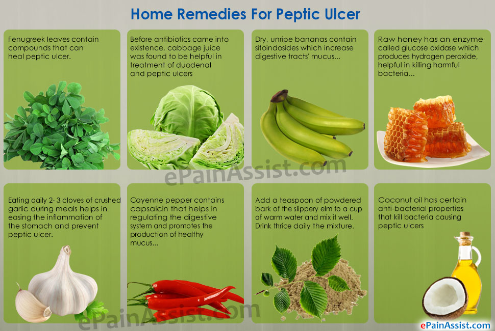 Natural Remedies For Bleeding Ulcers