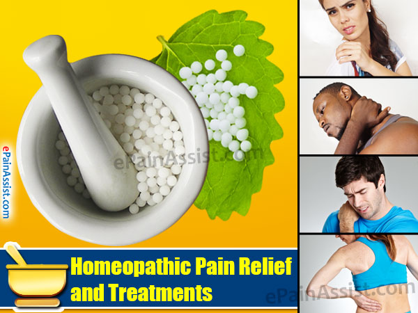 Homeopathic Pain Relief and Treatments