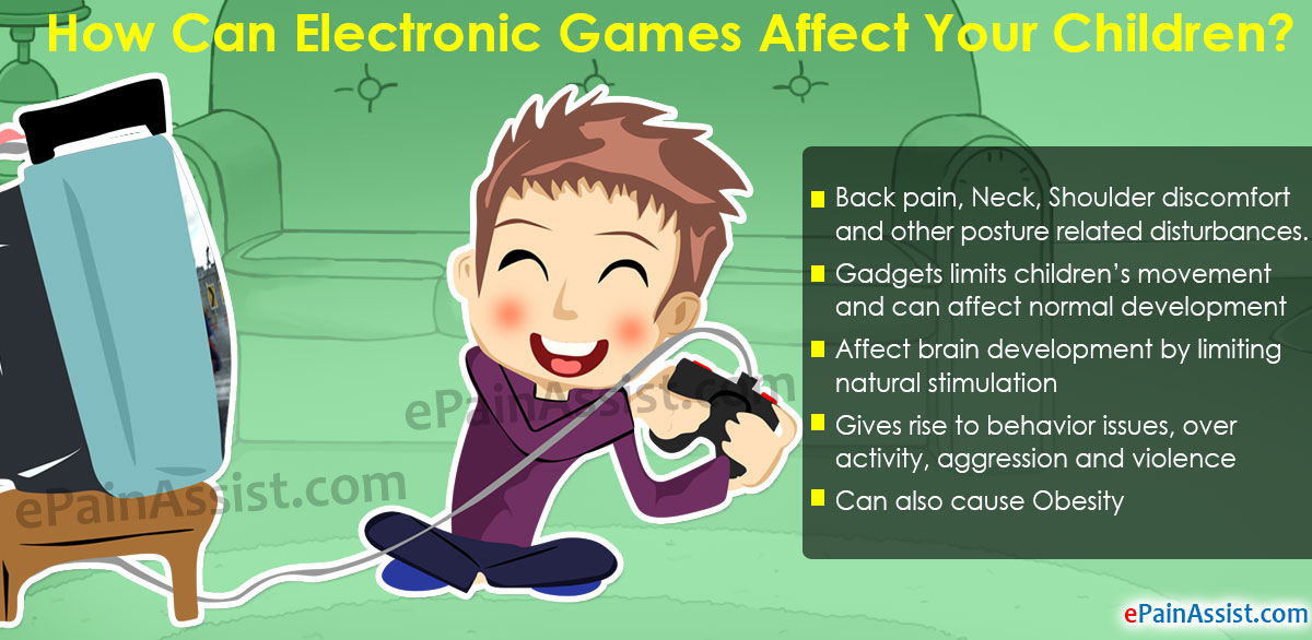 Electronic Games Affect Your Children