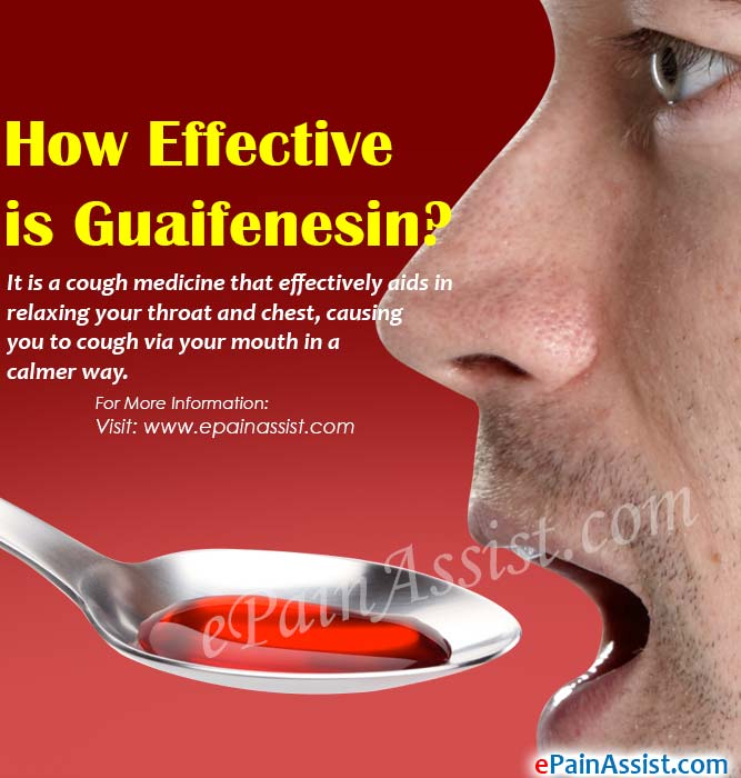 How Effective is Guaifenesin?
