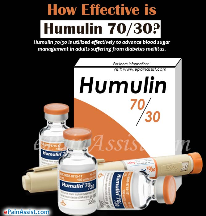 How Effective Is Humulin 70 30 Amp What Are It S Side Effects