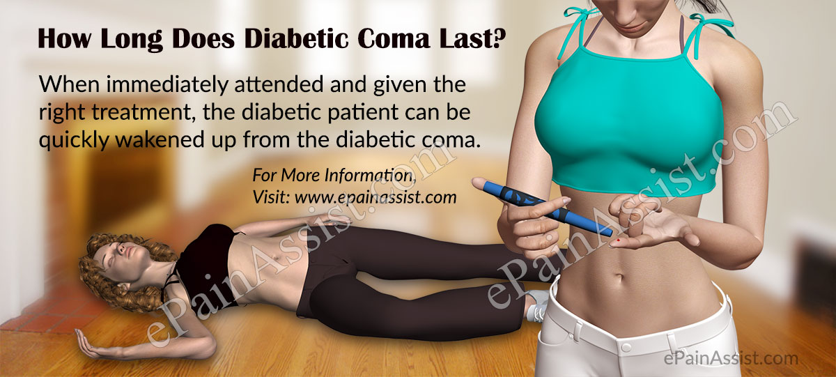 How Long Does Diabetic Coma Last and How is it Treated