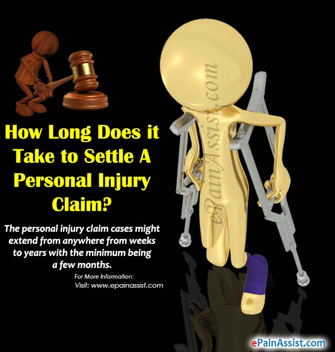 How Long Does it Take to Settle a Personal Injury Claim
