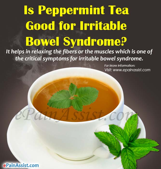Is Peppermint Tea Good for Irritable Bowel Syndrome?