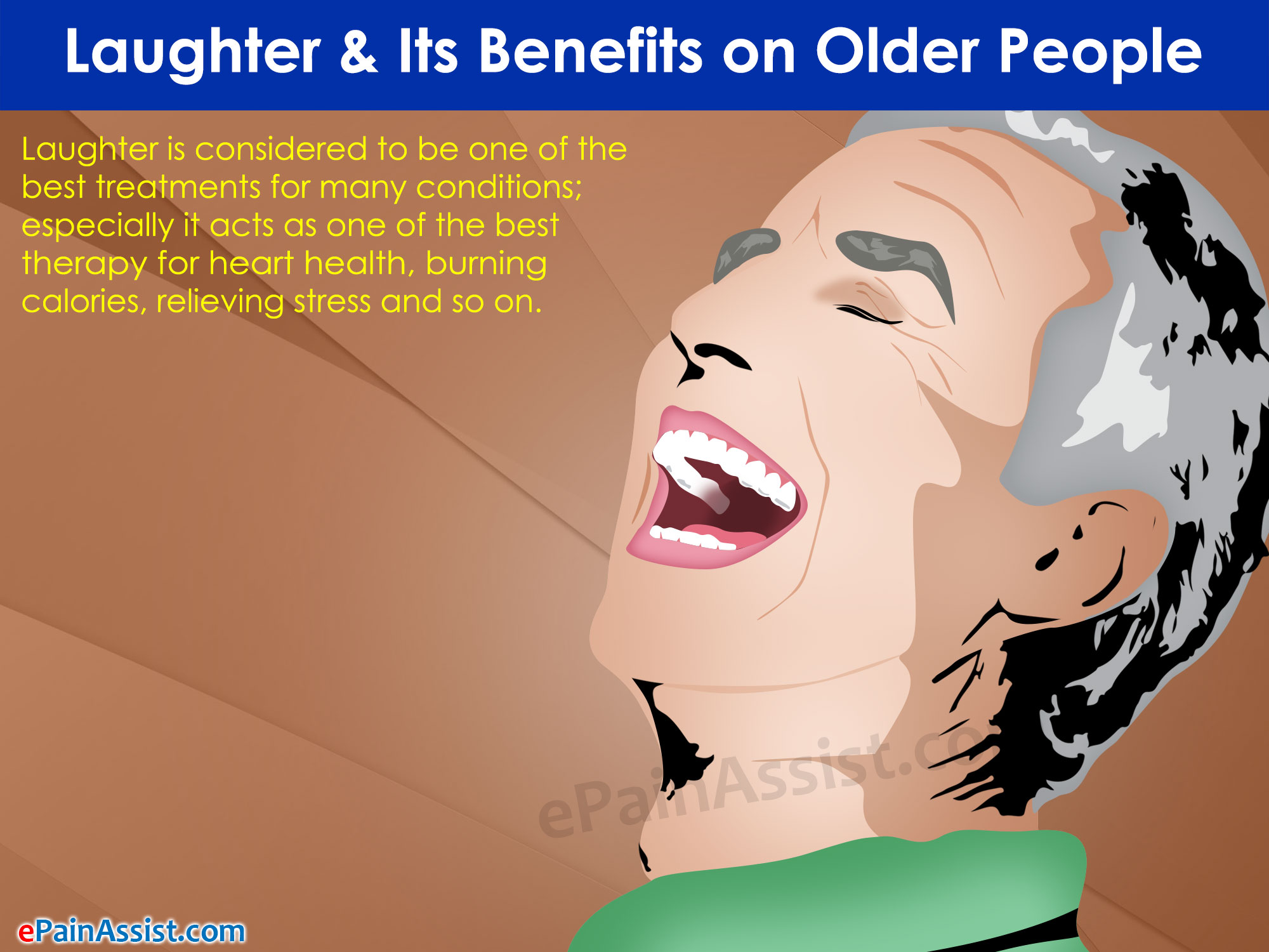 Laughter and Its Benefits on Older People