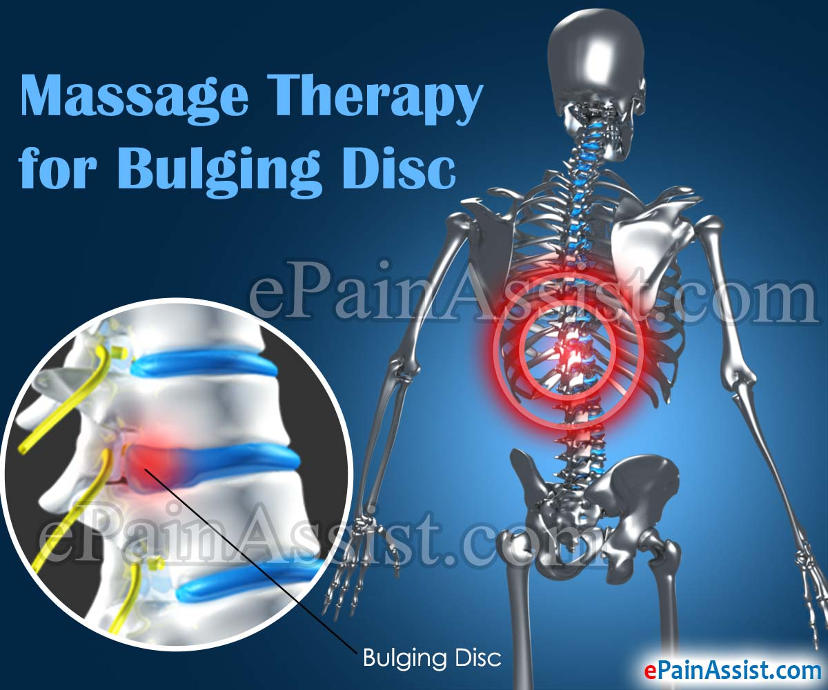 massage therapy for bulging disc: the mini-back bend technique!, Human Body