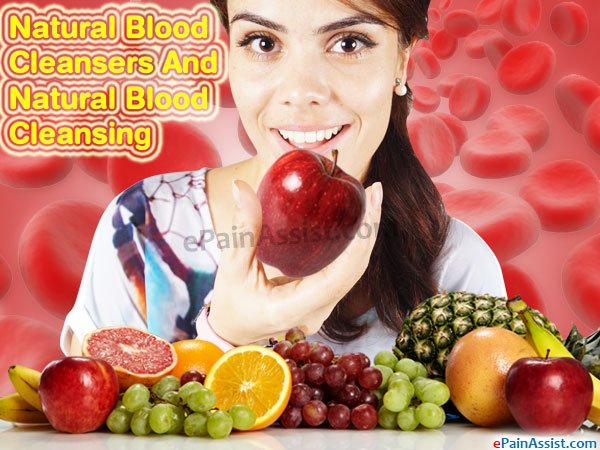 Natural Blood Cleansers And Natural Blood Cleansing