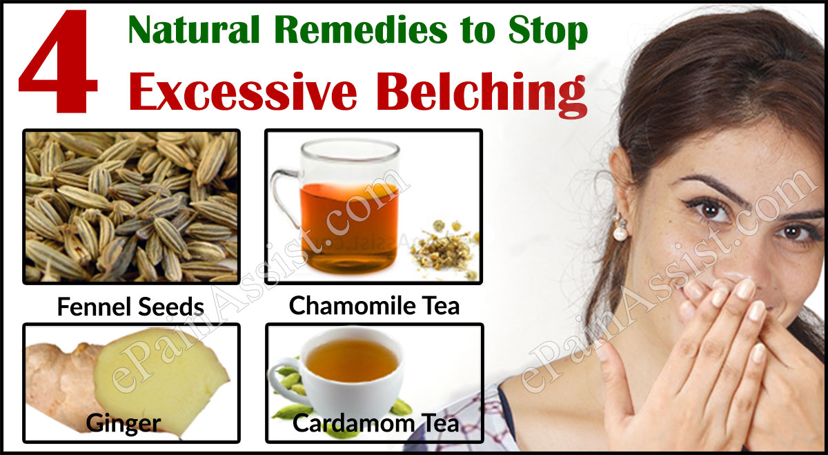 What Causes Excessive Belching and Natural Remedies to Stop it
