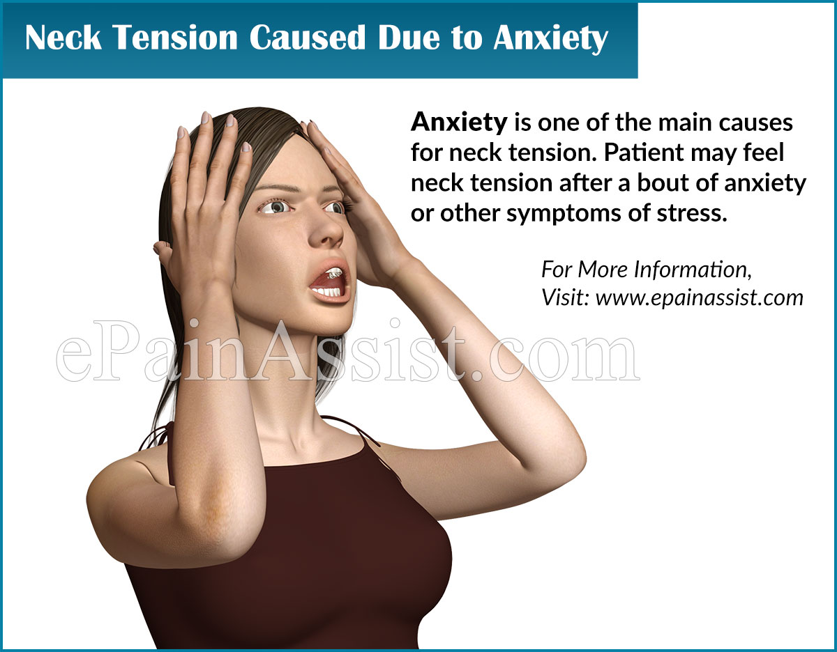 Neck Tension Caused Due to Anxiety