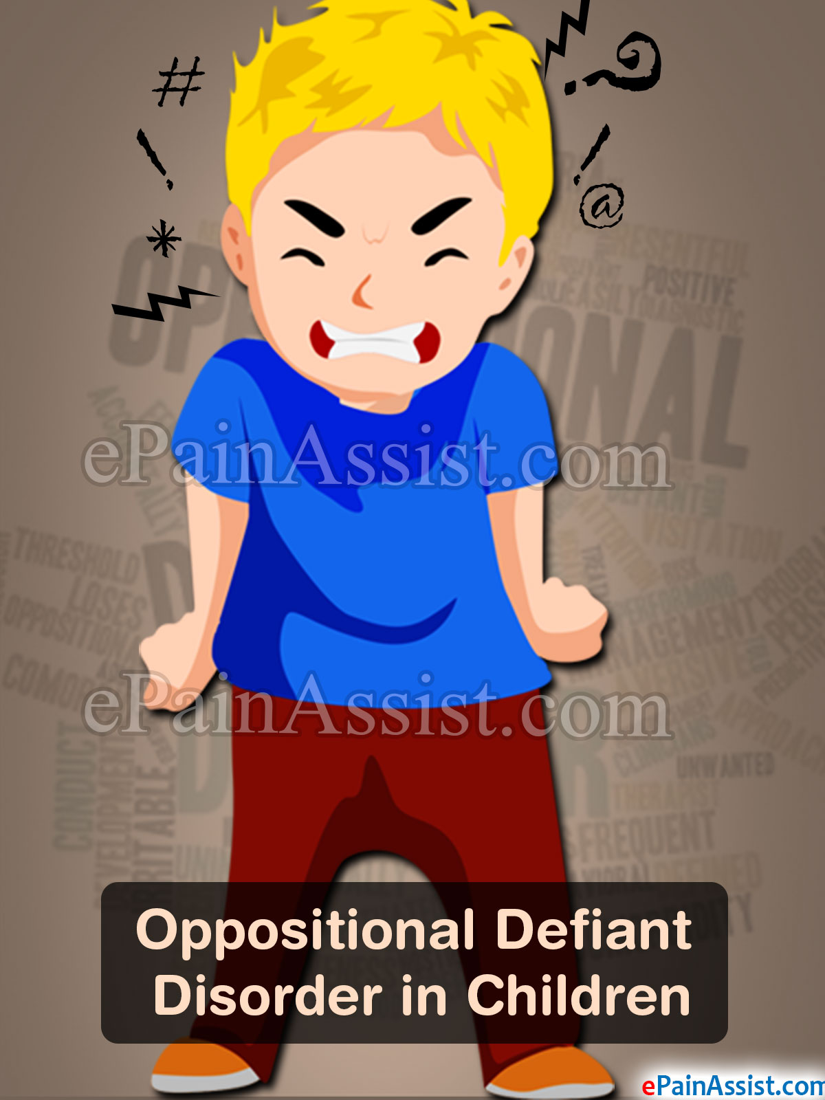 oppositional defiant disorder in children symptoms causes treatment