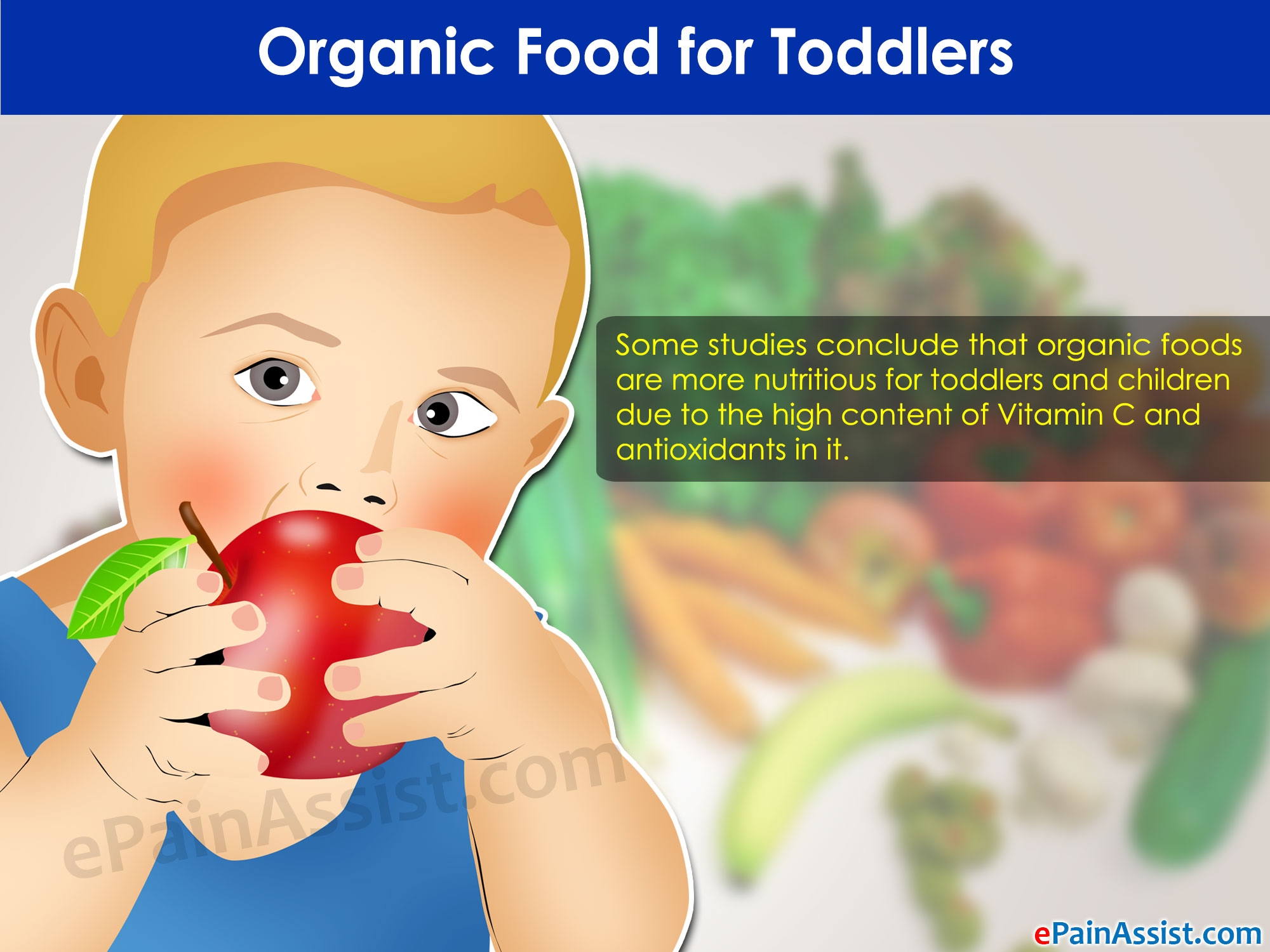 Organic Food for Toddlers